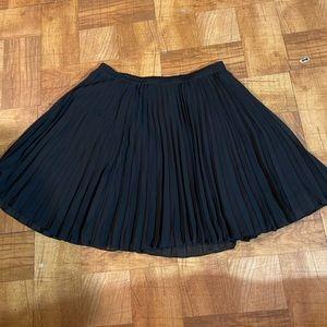 Hollister skirt size small black